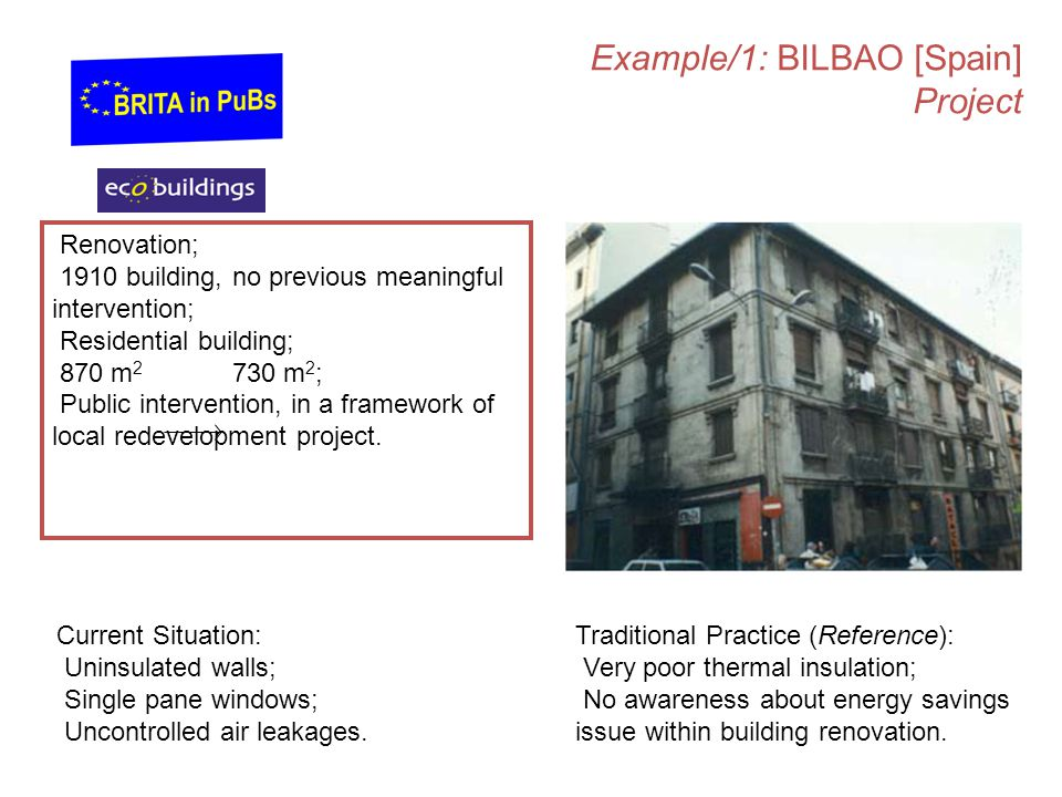 Example/1: BILBAO [Spain] Project